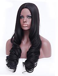 Synthetic Wigs Long Black Body Wave Heat Resistant Wigs For Women