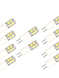 5PCS G4 13LED SMD2835 AC/DC12V 5W 850lm Warm White/White Double pin The Dimmer ceramic lamp