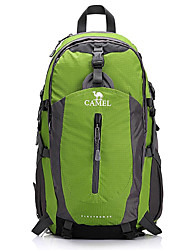 CAMEL 40L Nylon Material Traveling Mountaineering Hiking&Camping Backpack with Raincover Color Green/Red/Blue
