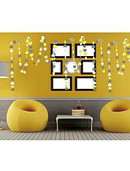 raylinedo® 1 шт 4 метра желтый серый и белый бумага гирлянда для годовщины свадьбы день рождения рождественские украшения форме сердца 7 *