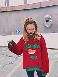 Sign corduroy 2016 new winter retro high collar loose sweater sweaters woman