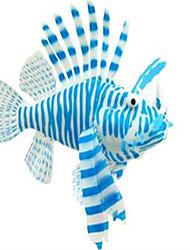 Décoration d'aquarium Ornements Non toxique & Sans Goût Silicone Bleu