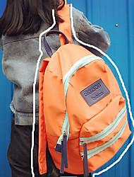 Mulher Bolsa de Ombro Poliéster Casual Azul Preto Laranja