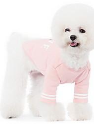 Chien Manteaux Vêtements pour Chien Sportif Uni Rose