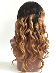 Top Quality Brazilian Human Virgin Hair Wigs Wave T1B /30 Hair Wig For Black Woman Glueless Full Lace Wigs With Baby Hair On Sale