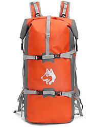45ll L Rucksack Camping & Hiking Climbing Traveling Performance Leisure Sports Waterproof Rain-Proof Waterproof Zipper Dust Proof Wearable