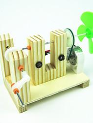 Jouets Pour les garçons Jouets de Dé ouverte Jouets Découverte & Science Moulin à vent Métal Plastique Bois Kaki