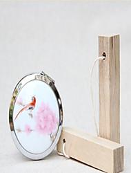 Wedding Gift Ceramic Double Sided Folding Mirror