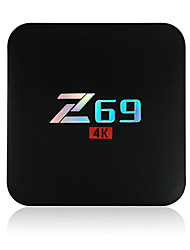 Z69 Amlogic S905X Android Box TV,RAM 2GB ROM 16Go Noyaux Géminés WiFi 802.11g Bluetooth 4.0