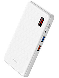 Power Bank Внешняя батарея 5V 1.0A 3.0A #A Зарядное устройство QC 3.0 Несколько разъемов с кабелем LCD