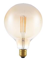 4W e27 conduit ampoules filament G125 4 épis 350 lm ambre dimmable 220-240V ac décoratif
