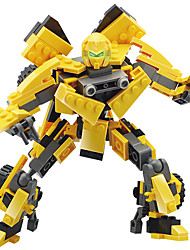 Toys For Gift  Building Blocks Model & Building Toy Warrior Robot Plastic 5 to 7 Years 8 to 13 Years 14 Years & Up Yellow Toys