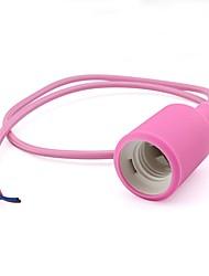 красочный e27 стандартный держатель винта розовый / синий / желтый / зеленый / красный для ламп 85 - 265V одеваются вашего дома (1 шт)