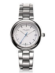 Women's Fashion Watch Wrist watch Swiss Quartz Calendar Water Resistant / Water Proof Quartz Stainless Steel Band Charm Casual Silver