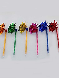 Laser Paper/Plastic Handmade Windmill Craft BallPoint Pen