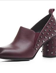 sapatos clube saltos verão das mulheres do couro ao ar livre