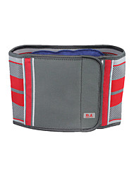 Unisex Lumbar Belt/Lower Back Support Protective Football Sports Elastane Red Light Gray