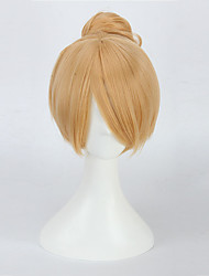 Blonde Wig For Tinker Bell Tinkerbell Costume Adult Fairy Tinker Bell Full Cosplay Synthetic Wigs