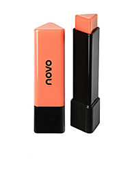 Novo Triangle Shape Young Pop Color Coral Orange Chocolate Baby Pink Raspberry Lipstick