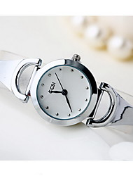 Women's Fashion Watch Quartz Water Resistant / Water Proof Alloy Band Cool Casual Silver