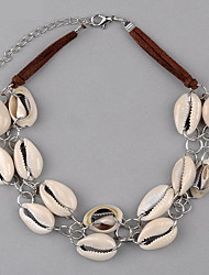 Women's Pendant Necklaces Cowry Shell Euramerican White Jewelry Birthday Daily 1pc