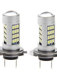 2pcs  Led Fog 10W H7 2835 42SMD Auto Head Bright Light 6000K Car Fog Lamp Light Bulbs DC12-24V