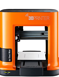 XYZPrinting3D Printer Da Vinci Red Jazz Pro 0.05mm Minin Micro 3D Printer PLA