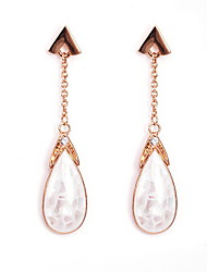 Drop Earrings Crystal Crystal Fashion Silver Jewelry Daily Casual 1 pair