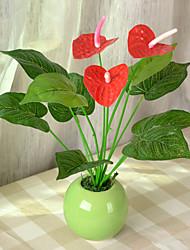 1 Ast Trockenblume Tisch-Blumen Künstliche Blumen