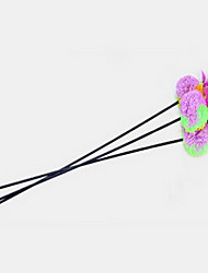Cat Toy Pet Toys Teaser Stick Random Color Plastic