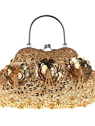 L.west Women Elegant High-grade Beaded Sequined Evening Bag