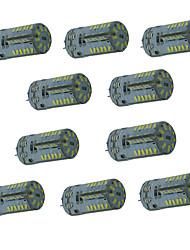 4W G4 Двухштырьковые LED лампы T 57 SMD 3014 300-450 lm Тёплый белый / Холодный белый / Естественный белыйДекоративная /