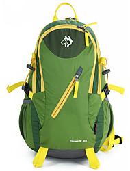 25 L Rucksack Camping & Wandern Klettern Draußen Leistung Wasserdicht Regendicht Wasserdichter Verschluß Staubdicht StoßfestGrün Blau