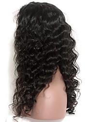 Onda solta 120% de laço de densidade frente perucas de cabelo humano cabelo remanso indiano pré arrancado cabelo natural com cabelo do