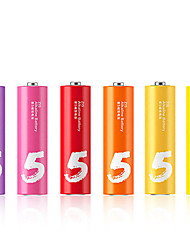 ZMI ZI5 AA Alkaline Battery 6 Pack 1.5V