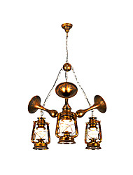 Retro Restaurant Chandelier Bedroom Study Lamps