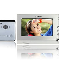 ACTOP Foto Single Home-Video-Türsprechanlage für Wohnungen High-End-Security-Produkte nehmen