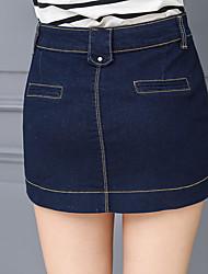 ka duolin neuen Verschlusstaschen Jeansrock Hüfte Hüfte Rock der koreanischen Version dünnen wilden Büste Schritt Rock war