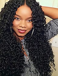 Remy Hair Natural Black Color Human Kinky Curly Lace Front Wig Short Human Hair Wigs For Black Women Brazilian Virgin Lace Frontal Wig 8 To 26 Inch