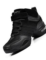 Keine Maßfertigung möglich Damen Modern Leder Sneakers Anfänger Blockabsatz Schwarz Schwarz und Gold Schwarz/Rot 2,5 - 4,5 cm