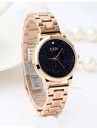 Women's Dress Watch Fashion Watch Quartz Water Resistant / Water Proof Noctilucent Stainless Steel BandDot Cool Casual Unique Creative
