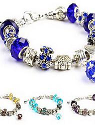 Chain Bracelet Crystal Love Natural Luxury Costume Jewelry Crystal Imitation Diamond Jewelry Jewelry For Birthday Gift
