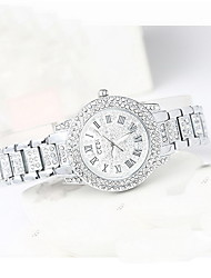 Women's Fashion Watch Quartz Water Resistant / Water Proof Alloy Band Bohemian Charm Cool Casual Luxury Silver Silver