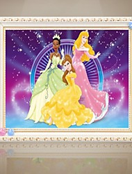 Fasion Fairy Tale Cartoon Character Bedroom Diamonds Cross Stitch Drawing