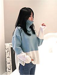 Южной Кореи с высоким воротником вязать свитер очарование из пряжи