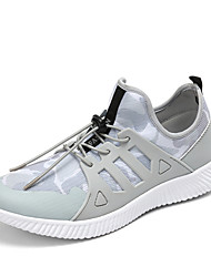 Men's Sneakers Spring Summer Fall Comfort Light Soles Tulle Outdoor Athletic Casual Flat Heel Gore Running Shoes