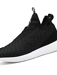 Athletic Shoes Spring Summer Comfort Synthetic Outdoor Athletic Casual Low Heel Black Gray Dark Blue Fitness & Cross Training