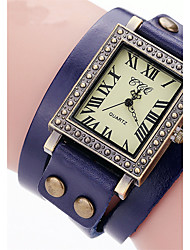 Vintage Ladies Watch Square Leather Bracelet Watch Men'S Watch Casual  Clock  Sport  Digital Watches Quartz Wrist Watch Relogio Feminino