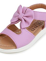 Girls' Shoes Casual Comfort Leather Sandals /Pink/White