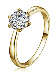 May Polly  Austria crystal zircon diamond ring